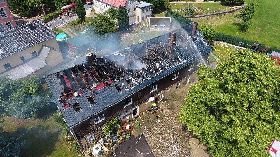 B2 Wohnhausbrand 09.06.19